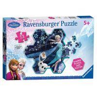 Ravensburger Disney Ledové království Elsina sněhová vločka 73 dílků