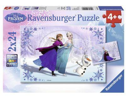 Ravensburger Disney Ledové království 2 x 24 dílků