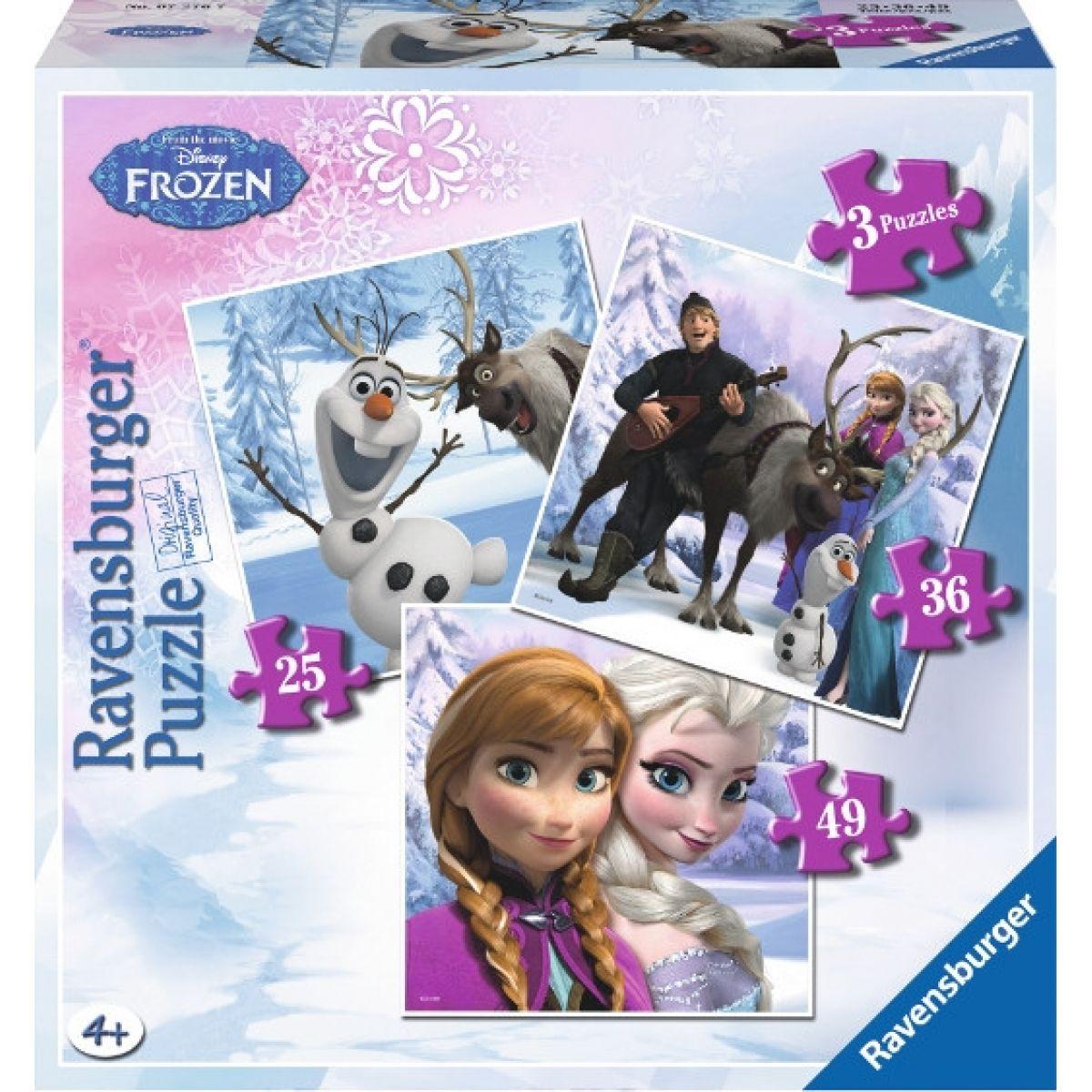 Ravensburger Disney Ledové království 3v1