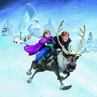 Ravensburger Disney Ledové království dobrodružství na sněhu 3 x 49 dílků 4