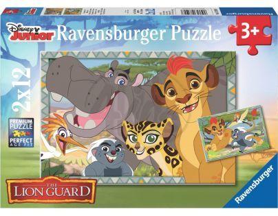 Ravensburger Disney Puzzle Lion Guard 2 x 12 dílků