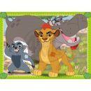 Ravensburger Disney Puzzle Lion Guard 4x puzzle v boxu 2