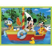 Ravensburger Disney Mickeyho Mouse Klubík 4 x puzzle v boxu 4