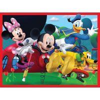 Ravensburger Disney Mickeyho Mouse Klubík 4 x puzzle v boxu 5