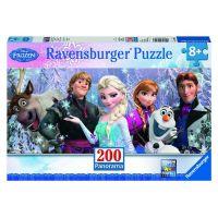 Ravensburger Disney Panorama Ledové královstvíi 200 dílků
