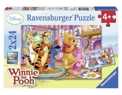 Ravensburger Disney Prasátko a jeho přátelé 2x24 dílků