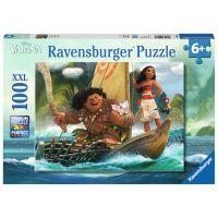 Ravensburger Disney Puzzle XXL Vaiana a Maui 100 dílků
