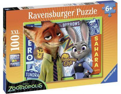 Ravensburger Disney Puzzle Zootropolis 100XXL dílků