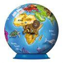 Ravensburger 12126 - Puzzle Ball Globus 72 dílků 2