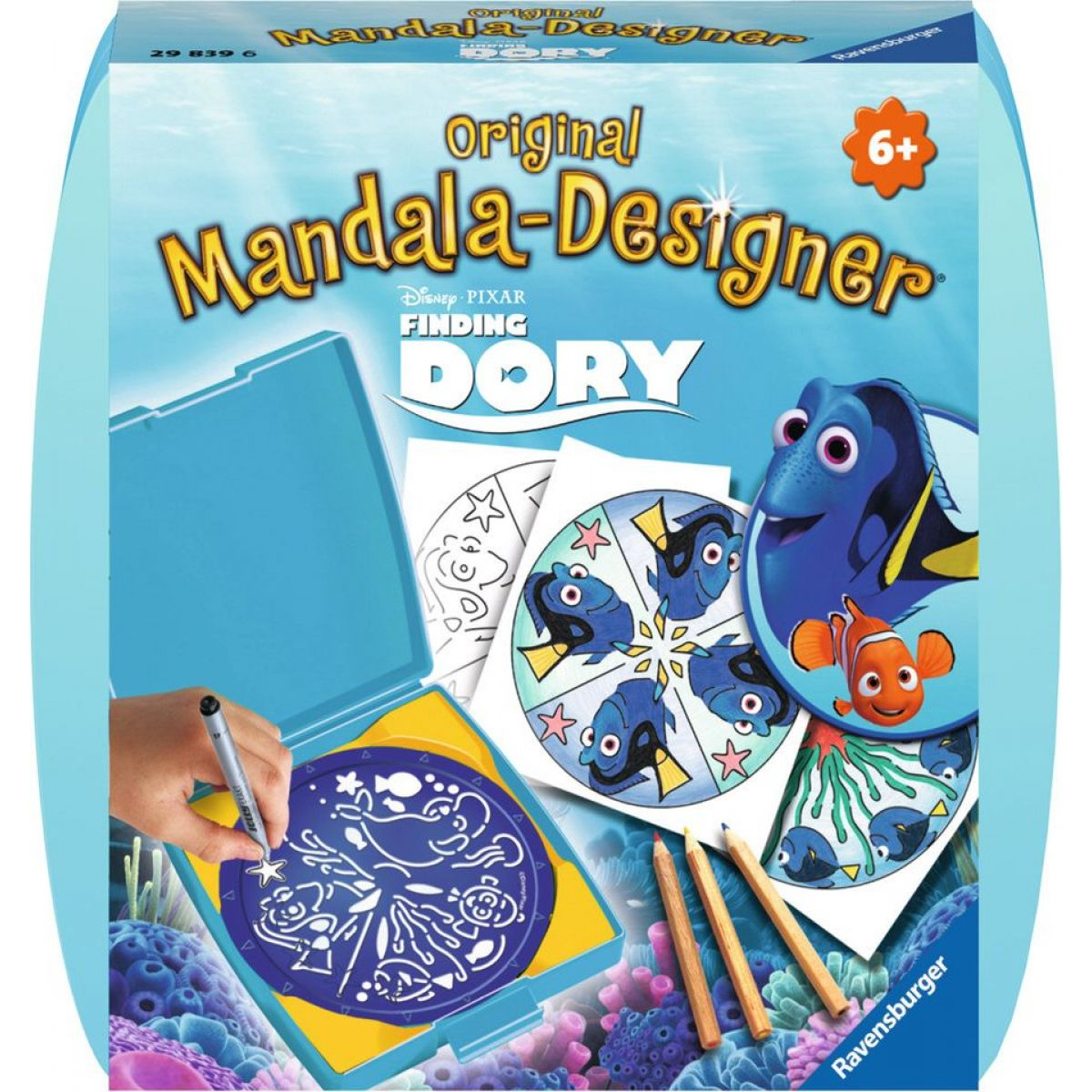 Ravensburger Hledá se Dory Mini Mandala Designer Ravensburger