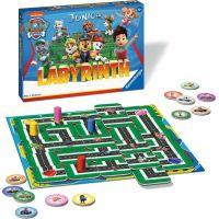 Ravensburger hra Labyrinth Junior Tlapková patrola