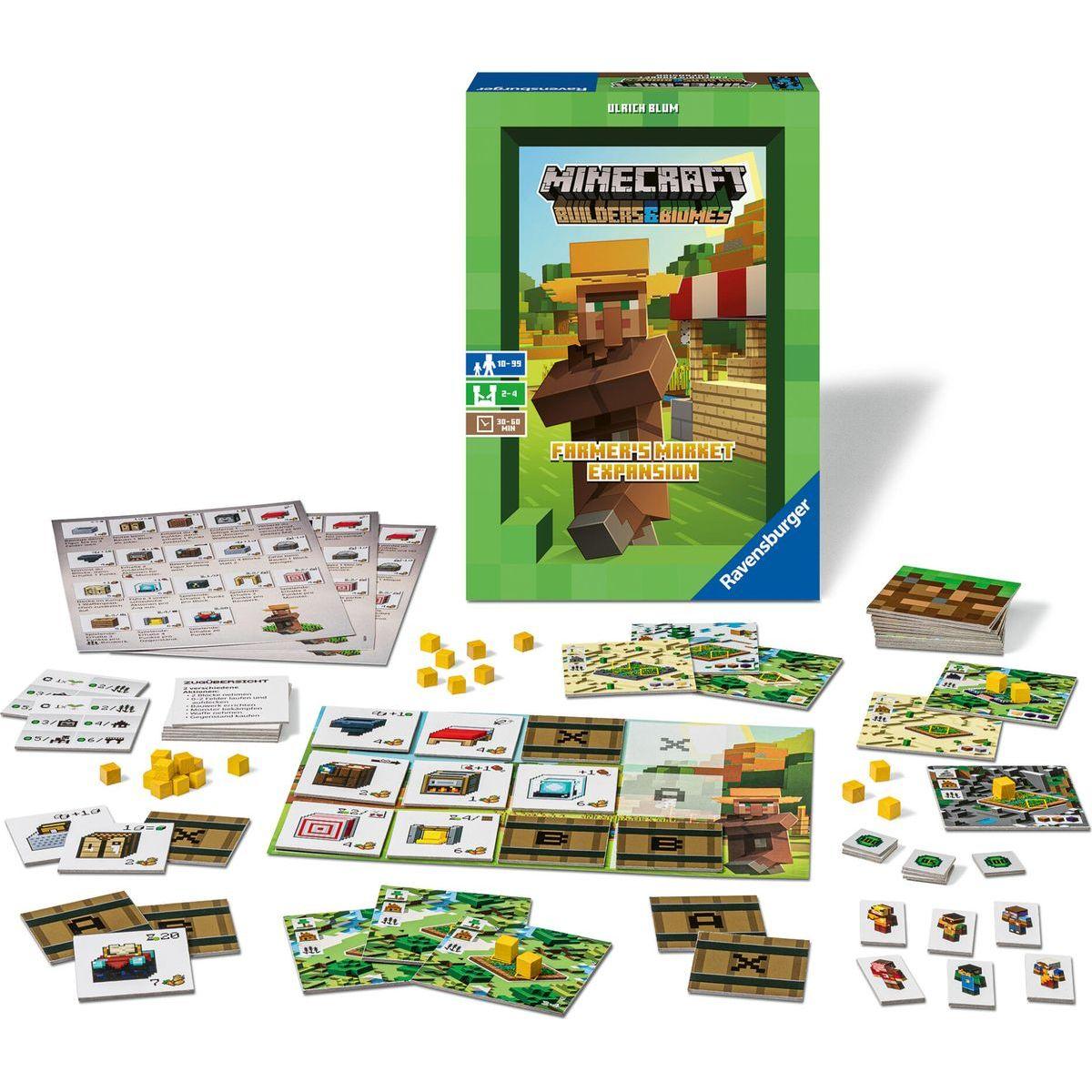 Ravensburger hra Minecraft Farmer's Market rozšíření