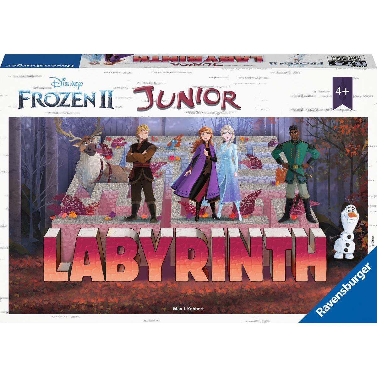 Ravensburger hry Labyrinth Junior Disney Ledové království II