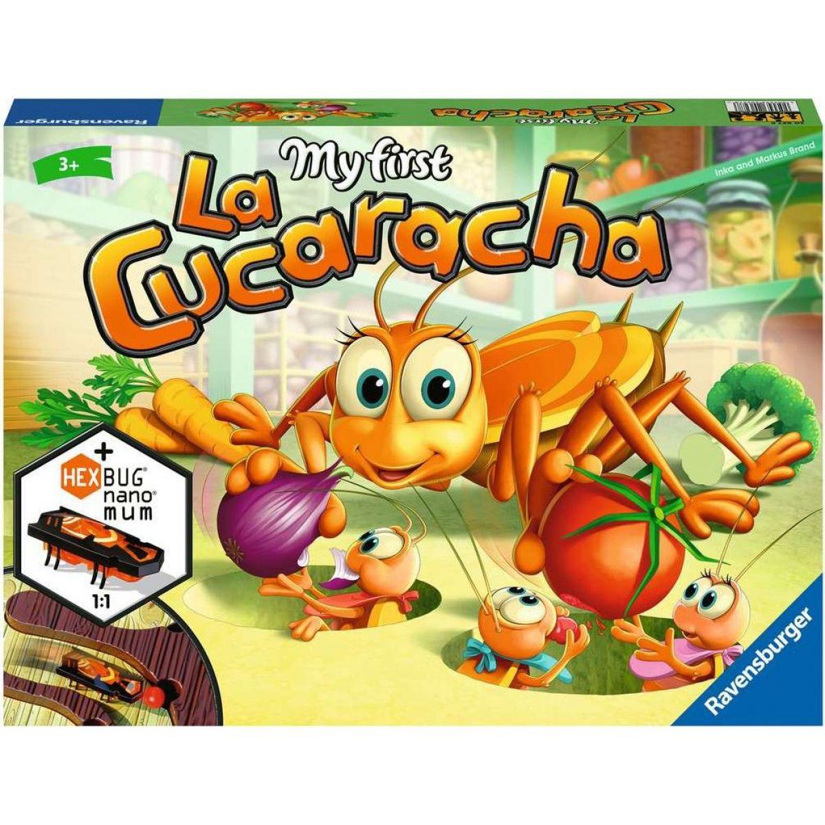 Ravensburger hry 206278 Moja prvá La Cucaracha