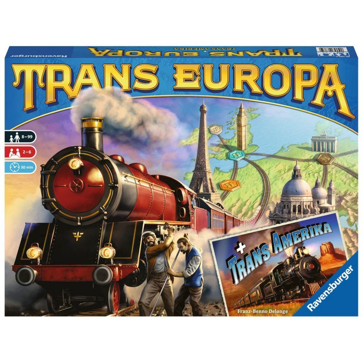 Ravensburger Hry Trans Europa