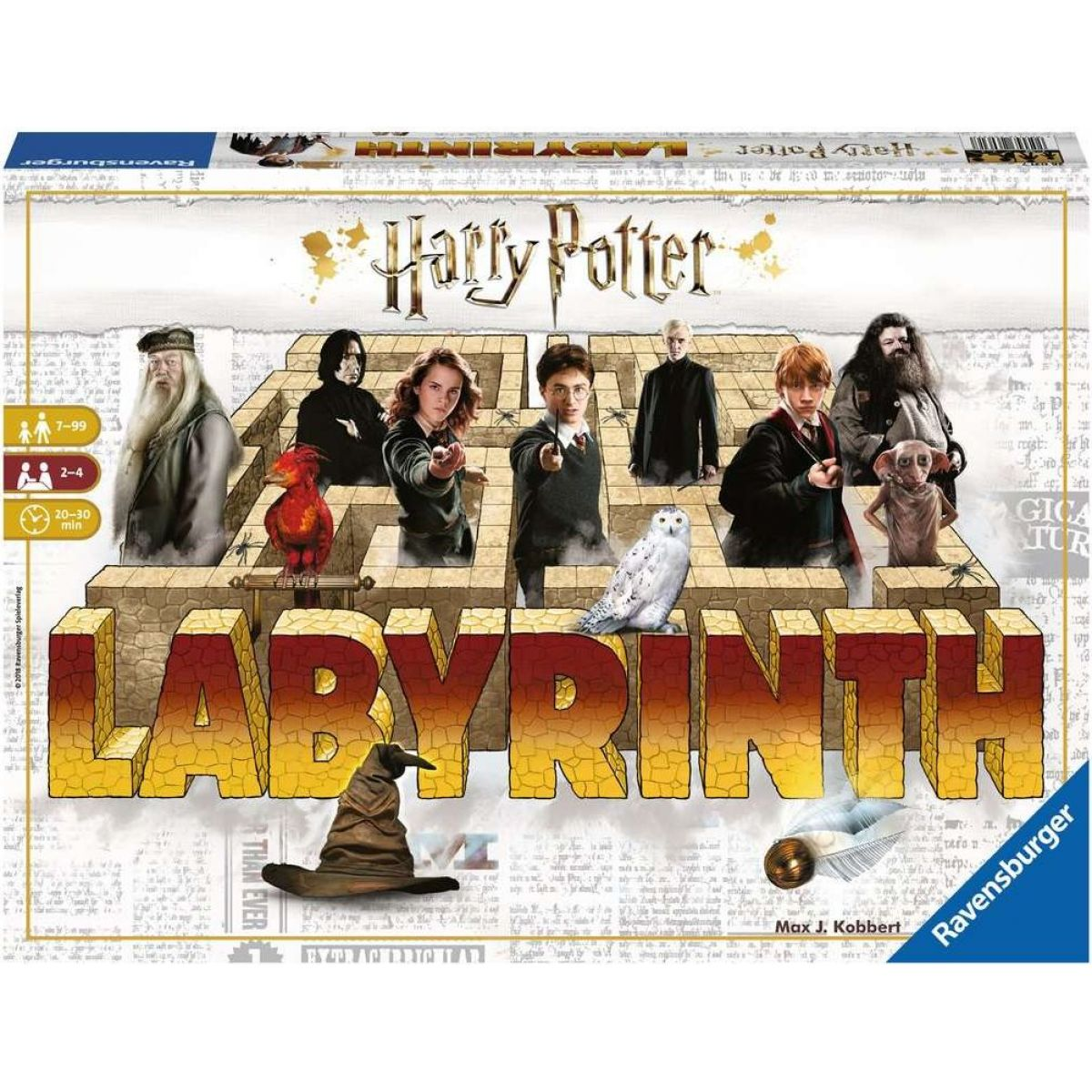 Ravensburger hry Labyrinth Harry Potter