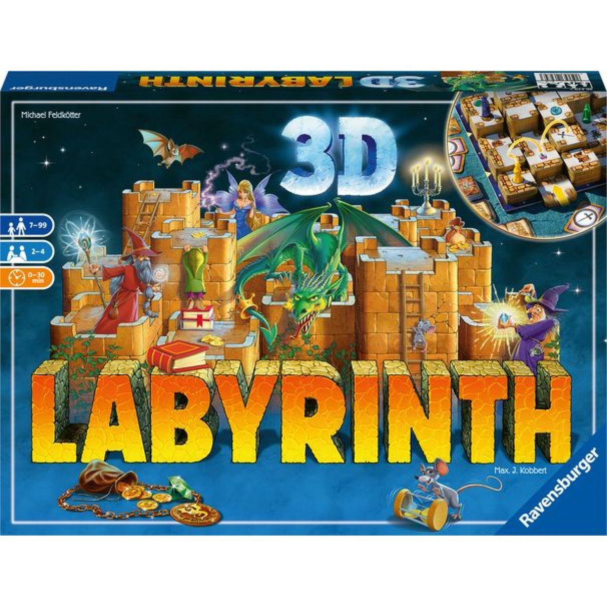 Ravensburger hry Labyrinth 3D
