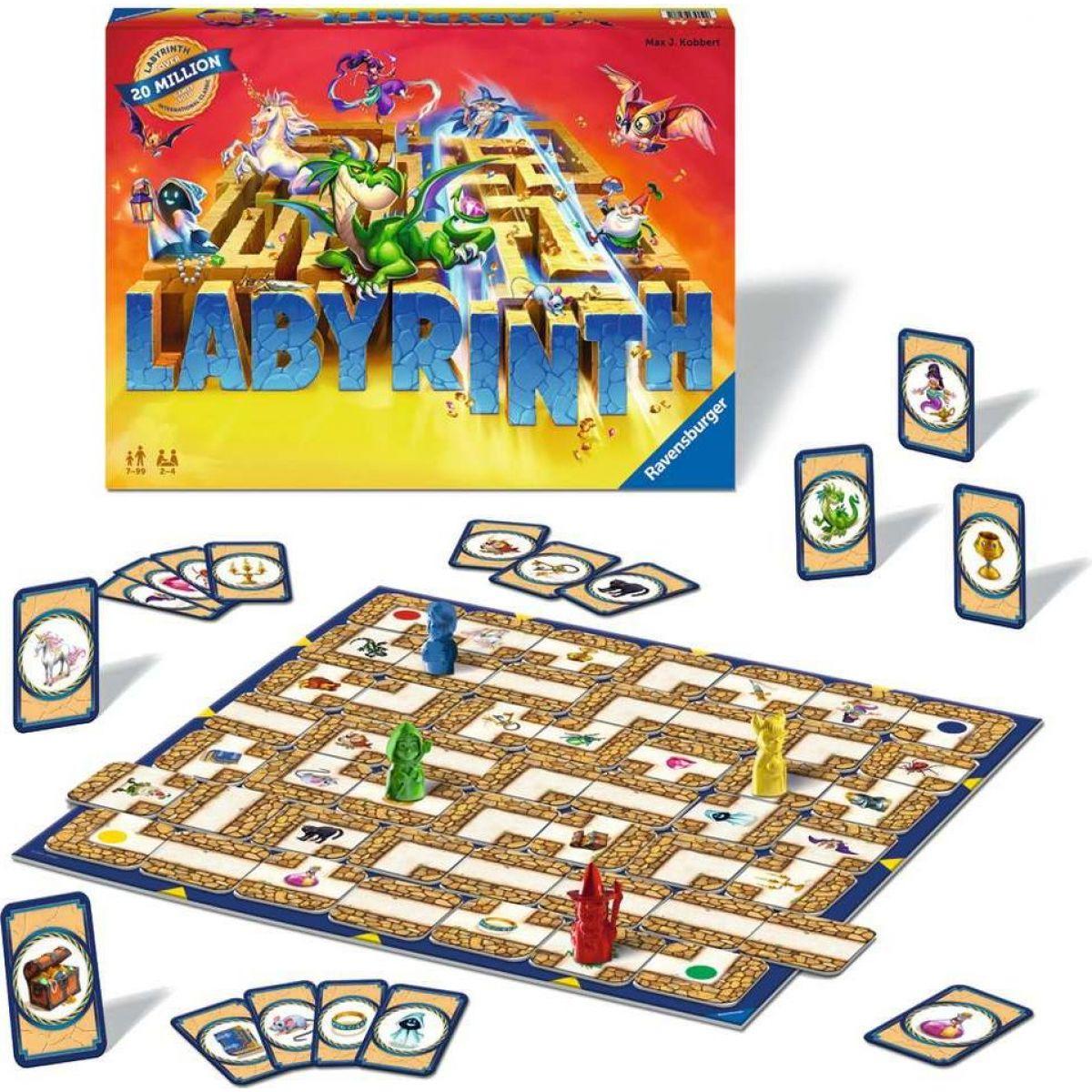 Ravensburger hry Labyrinth
