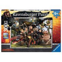 Ravensburger Jak vycvičit draka Puzzle XXL Věrní přátelé 300 dílků