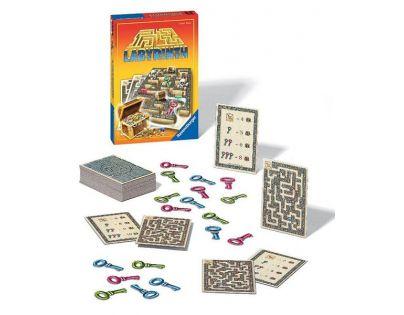 Labyrint Honba za pokladem hra (Ravensburger 26597)
