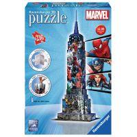 Ravensburger Marvel Puzzle 3D Empire State Building 216 dílků