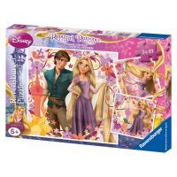 Ravensburger Puzzle Princezna na vlásku 3 x 49 dílků