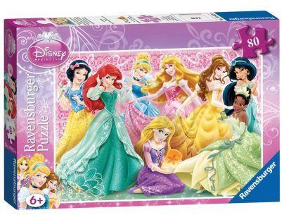 Ravensburger Puzzle Princezny 80 dílků