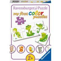 Ravensburger puzzle Moje první barevné puzzle zvířátka 6 x 4 dílků