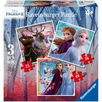 Ravensburger puzzle Disney Ledové království 2 3 v 1