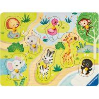 Ravensburger Puzzle Zoo zvířata 8 dílků