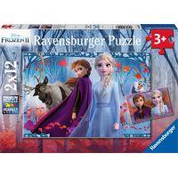 Ravensburger puzzle Disney Ledové království II 2x12 dílků