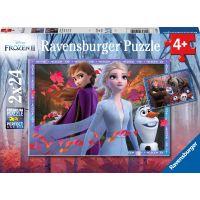 Ravensburger puzzle Disney Ledové království II 2x24 dílků