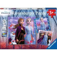 Ravensburger puzzle Disney Ledové království II 3x49 dílků