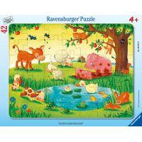 Ravensburger puzzle Zvířátka 42 dílků
