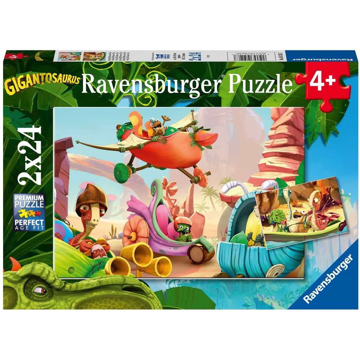 Ravensburger puzzle 051267 Gigantosaurus 2x24 dielikov
