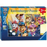 Ravensburger Puzzle Labková patrola V akcii 2 x 12 dielikov