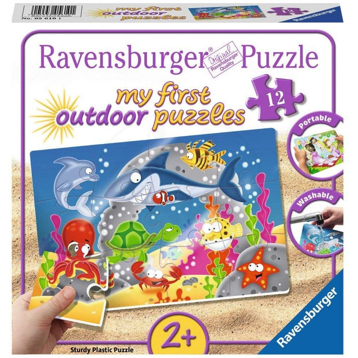 Ravensburger Puzzle Podvodní dobrodružství 12 plastových dílků