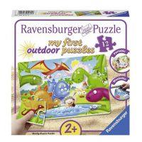 Ravensburger Puzzle  Dinosauří přátelé 12 plast dílků