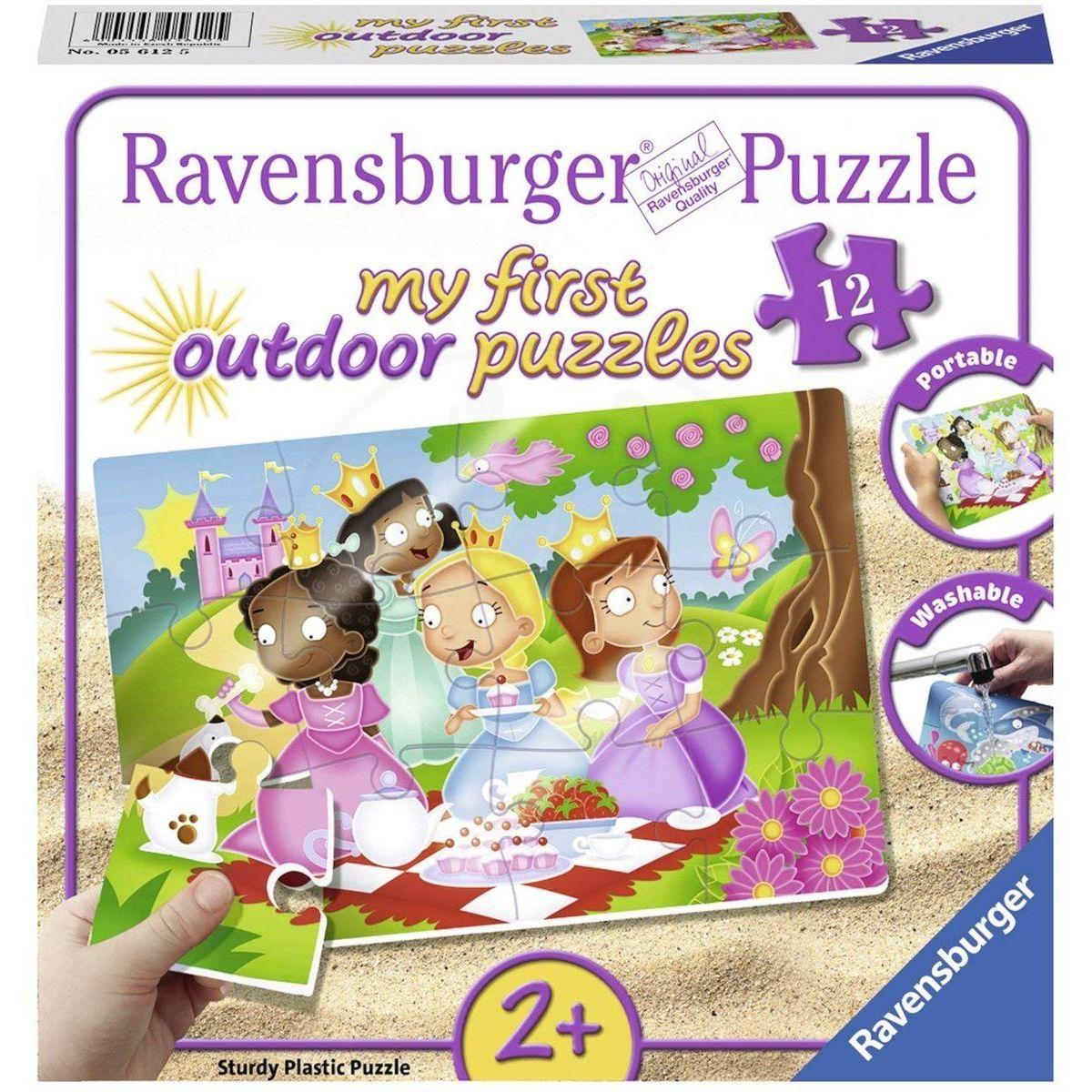 Ravensburger Puzzle Sladké princezny 12 plastových dílků
