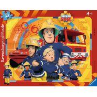 Ravensburger puzzle Požárník Sam 40 dílků