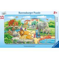 Ravensburger Puzzle Výlet do Zoo 15 dílků