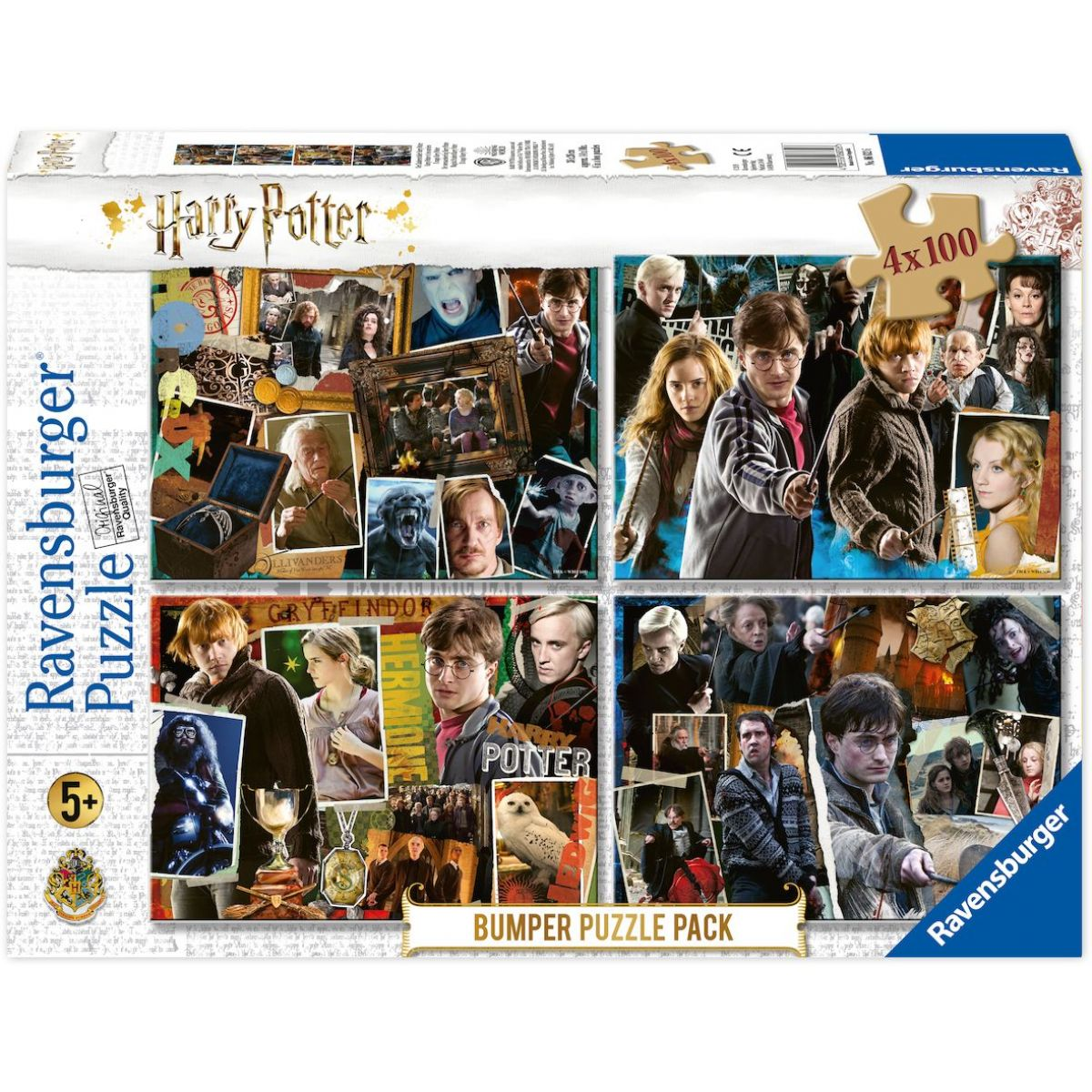 Ravensburger puzzle Harry Potter set 4 x 100 dílků