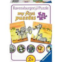 Ravensburger Puzzle Zvířecí rodinky 9x2 dílků