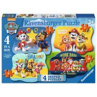 Ravensburger puzzle 4v1 Tlapková patrola 4 6 8 10 dílků