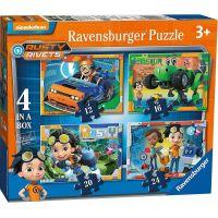Ravensburger puzzle Rusty Rivets 4 v 1