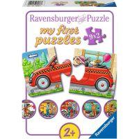 Ravensburger puzzle Městská doprava 9 x 2 dílků
