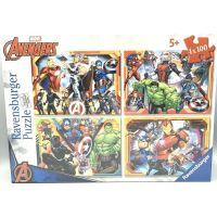 Ravensburger puzzle Marvel Avengers set 4 x 100 dílků