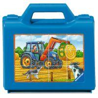 Ravensburger Puzzle Vozidla na farmě 12 dílků