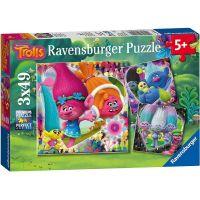 Ravensburger puzzle Trolové 3 x 49 dílků