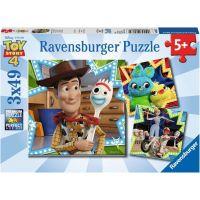 Ravensburger puzzle Disney Toy Story 3 x 49 dílků